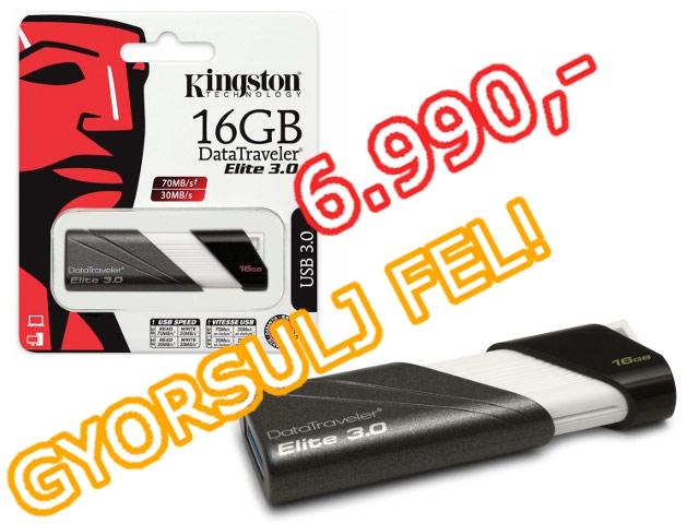 Kingston 16GB USB3.0 pendrive