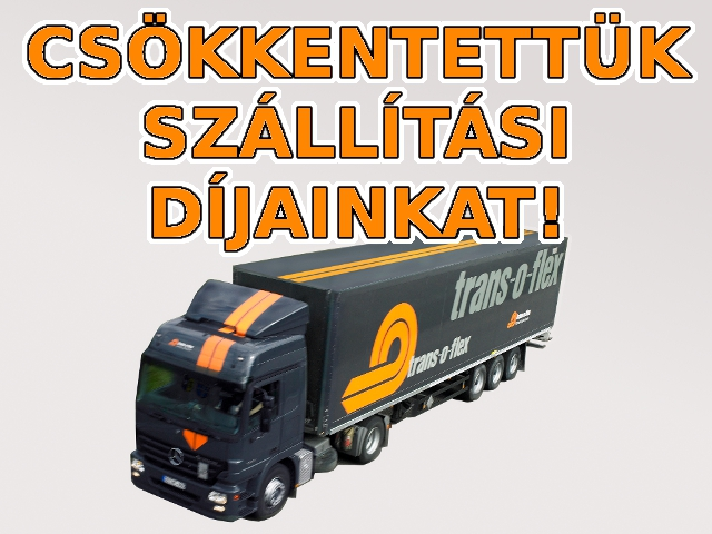 Csökkentettük szállítási díjainkat!